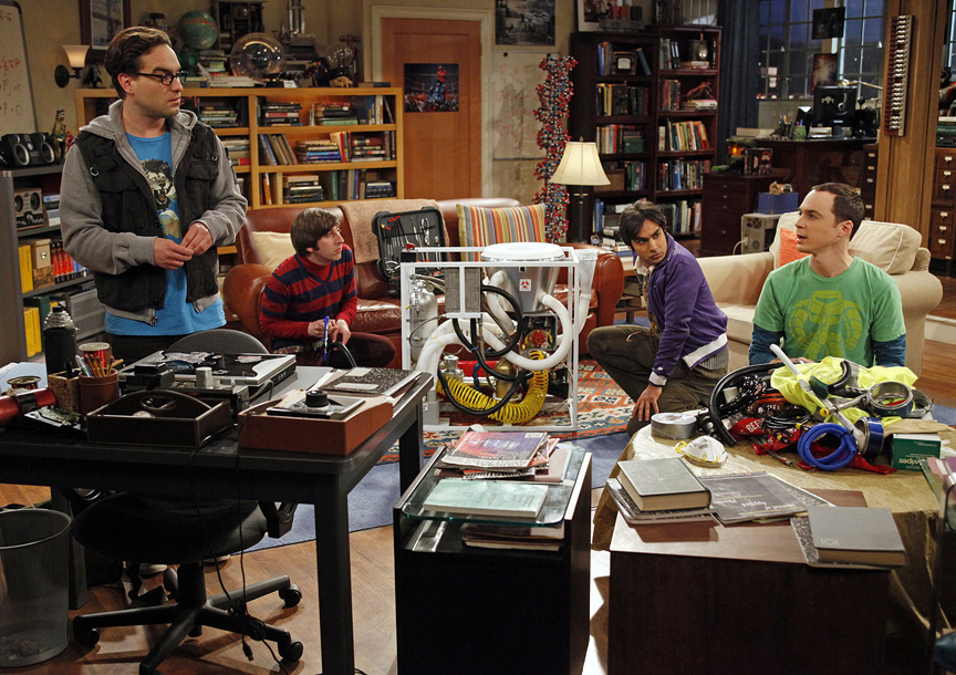 The Big Bang Theory, discussion topics are touchy, post traumatic stress disorder